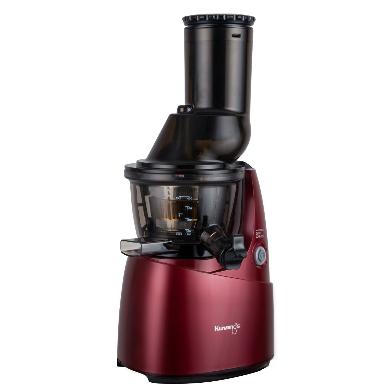Kuvings Whole Slow Juicer B6000 Superplus : Wyciskarka sokow Kuvings Whole Juicer B6000 czerwona + 2 sita