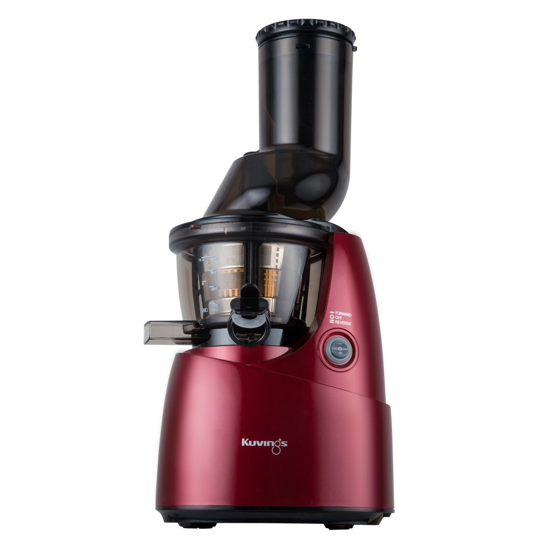 Kuvings Whole Slow Juicer B6000 Superplus : Wyciskarka sokow Kuvings Whole Juicer B6000 czerwona w promocji