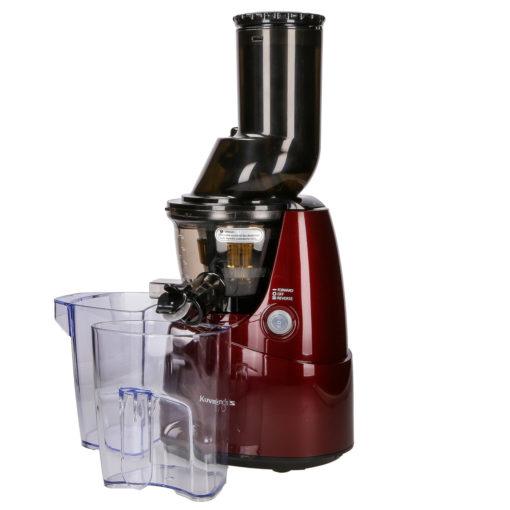 Wyciskarka do soków z warzyw i owoców Kuvings B6000 czerwona z pojemnikami